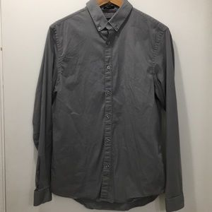 Men's Guess Grey Button Down Dean Shirt